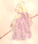 Asgore Watercolor by Artist-Who-Draws