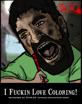 I LOVE COLORING by Enikad