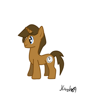 Clock Pony by Hunch89