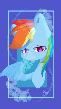 [MLP]Rainbow Dash by OPHake