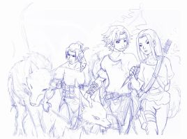 naruto OCs in progress 2 by askerian