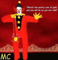 The Ghost Clown In Second Life by The-Mind-Controller