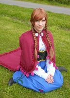 Frozen Anna cosplay by HoneyMuffins