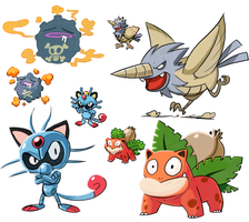 Pokefusions by StevenRayBrown