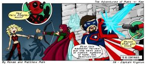 Adventures of Matt -n- Nae #26 - Captain Krypton by TheEvilNae