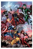 Uncanny Avengers Color by ScottCohn