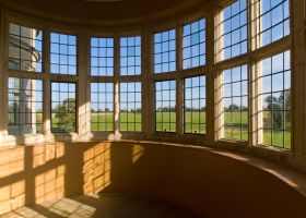 Kirby Hall Window Sunlight by davepphotographer