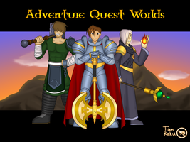 Adventure Quest Worlds by DragonBladerX