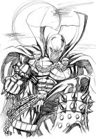Spawn sketch by Hachiman1