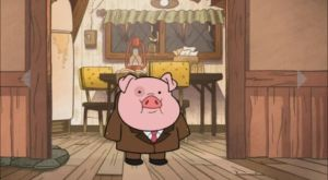 Waddles' Summerween Costume by RMB13