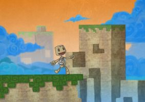 8-bit world LBP 2 contest by Jump-Button