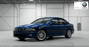 BMW E39 M5 front by Schaefft
