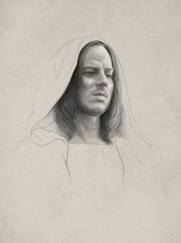 Jaqen (practice sketch) by diegoidef