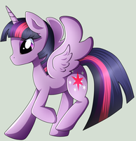 Behold the Princess Twilight Sparkle by Naruto-Cupcakes