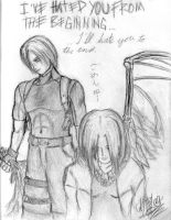 I Could Hate You or Love You by k0nfuwzdxkikai