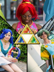 3 Oracles - 3 Goddesses - Triforce And Stones by KaoYoruse