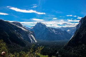 Haf Dome - Yosemite National Park, California by DigonDesigns