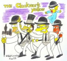 The Simpsons : The Clockwork Yellow by komi114