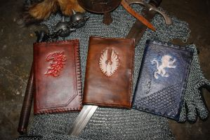 Leather ESO war diaries - The Three Factions by Hansi256