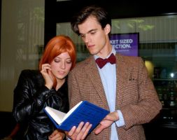 Eleventh Doctor, Amy Pond, River's Diary by MisterTimeLord