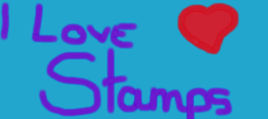 I LOVE STAMPS by KusiaMC