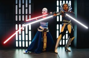 Ventress | Tano. Unexpected allies. by AnnieRagnarek