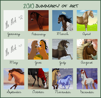 2010 - Summary of Art by Wild-Hearts