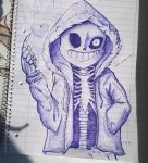 Sans [you're blue now] by Jeyawue
