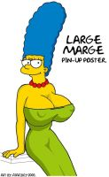 Marge Larger Then Life. by Atariboy2600