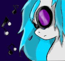 Crying Vinyl colored by sailor-mini-mars