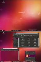 Ubuntu 10.10, October Desktop2 by Rasa13