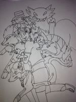 Pokemon Team Go! W.I.P by Shizako-san