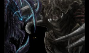 Request - Hybrid Reaver VS Zerg by SwarmCreator