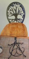 tree barstool by artistladysmith