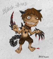 Terror Boy 01 : Black Shard by polawat