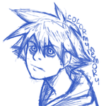 Sora color sketch ex. by ColorMyMemory