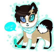Minecraft Simon! - Anime Chibi Style by NekoMellow