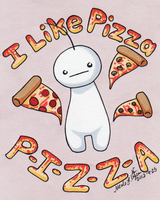 Gimme PIZZA! by CrystallineColey