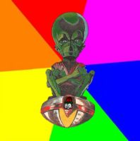 Socialist From Outer Space by benzaden