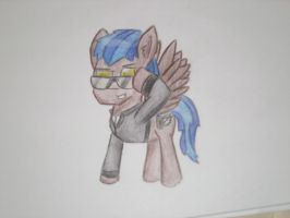 Wolf54321's Avatar Pencil Drawing by hopeabandoner