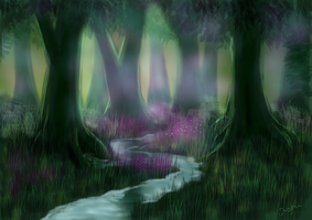 Forest at peace by dresha