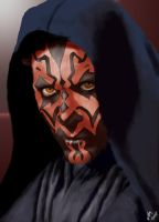 Darth Maul by ThirteenthDoctor