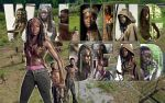 Michonne by Coley-sXe