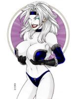 Lady Death - Colour7 - GBlair by Drazhar24