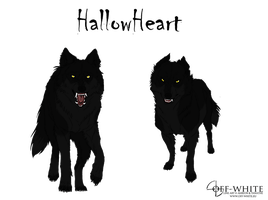 HallowHeart Ref by DireWolf402