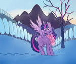 Snow at Dawn by PwnKage