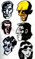 Sin City Heads by UnknownX