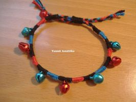 Simple bracelet with bells by YasmiiJNK