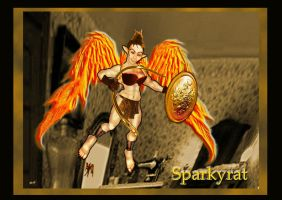 Fairy Warrior by sparkyrat