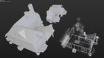 Low-poly  Blacksmiths' by betasector